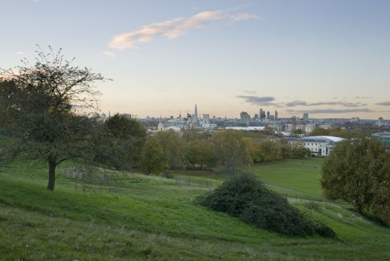 View of London from Giant Steps