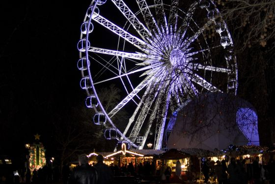 Ferris Wheel at Hyde Park Winter Wonderland