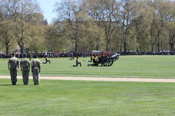 Royal Gun Salute Cannons