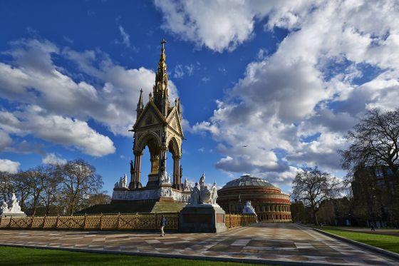 Albert Memorial and Royal Albert Hall