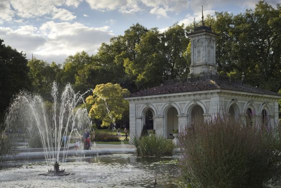 The Pump House at the Italian Gardens