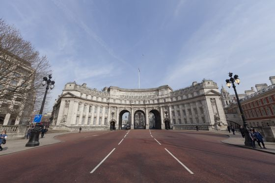Admiralty Arch in Spring 2014