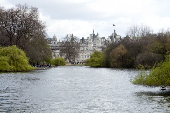 Horse Guards Parade from Blue Bridge