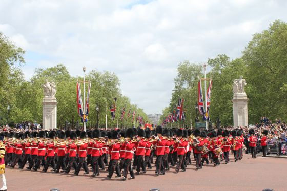 Trooping the Colour Procession