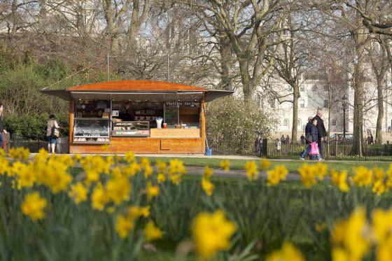Kiosk in St James's Park