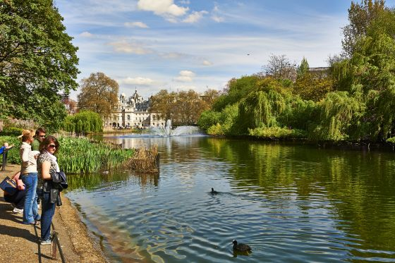 St. James's Park Lake