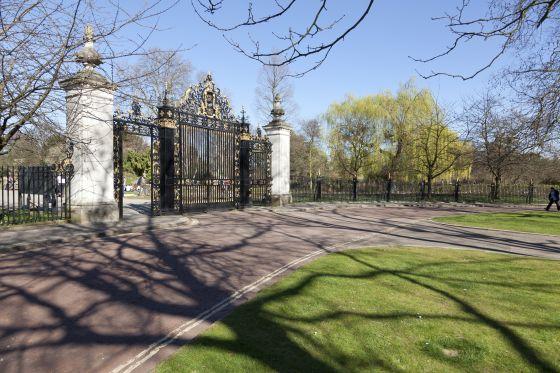 Jubilee Gates in Regent's Park