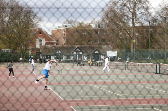 Tennis in Regent's Park